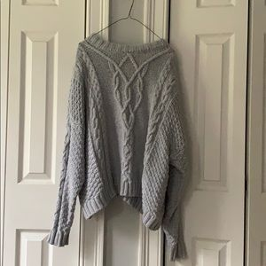 Aerie Large Knit Sweater